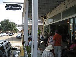 Entering Cafe