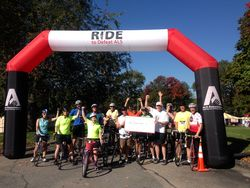 RudeBoys at Ride to Defeat ALS Wayland MA